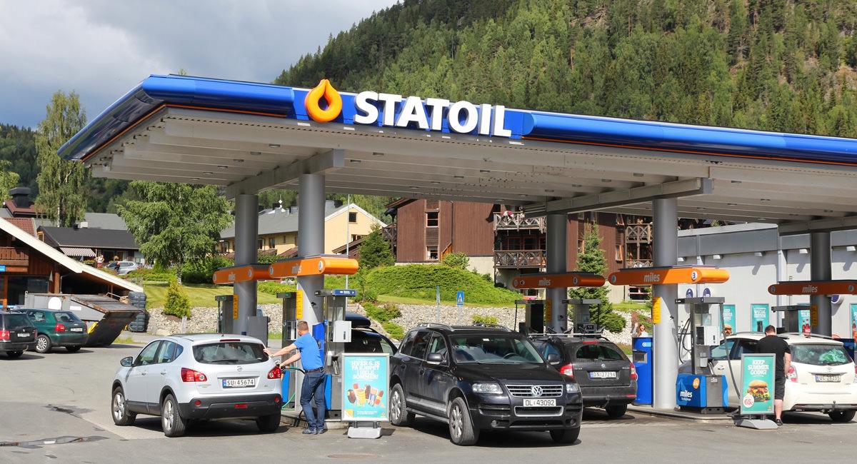Tankstellennetz norwegen