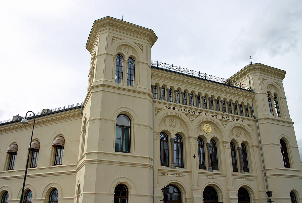 Verleihung Friedensnobelpreis Oslo