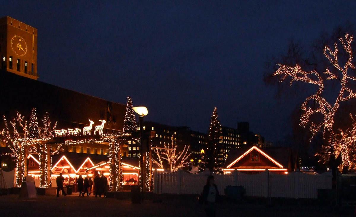 Weihnachtsmarkt Oslo