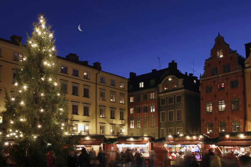 Weihnachtsmarkt Stockholm Gamla Stan