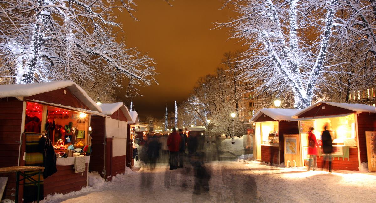 christmas market finland
