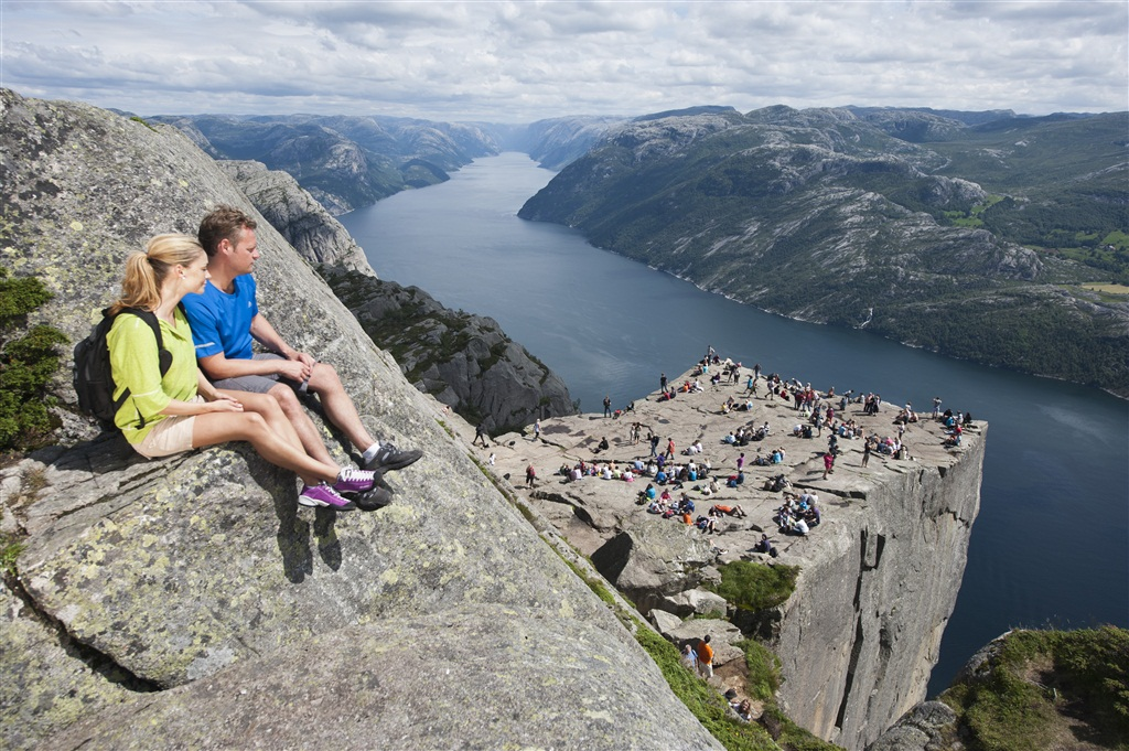 Preikestolen Norwegen