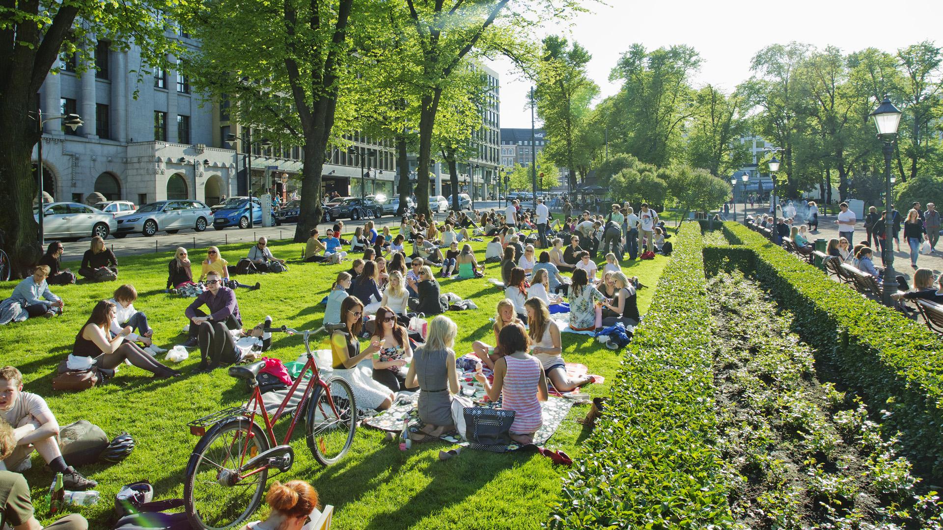 Esplanadi-Park Helsinki