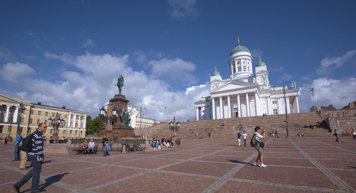 Senatsplatz Helsinki