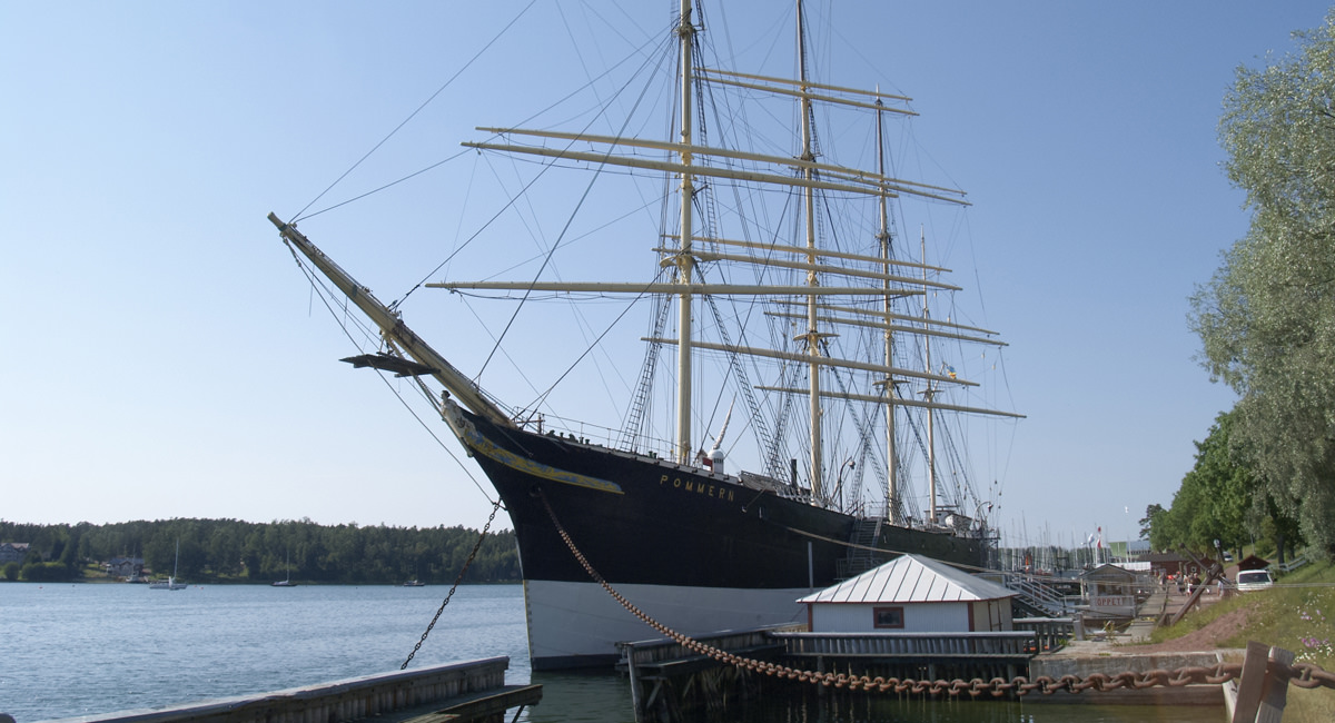 Museumsschiff Pommern Mariehamn