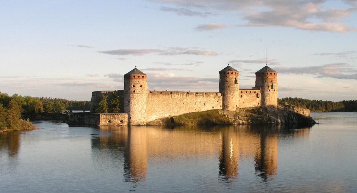 Burg Olavinlinna Savonlinna
