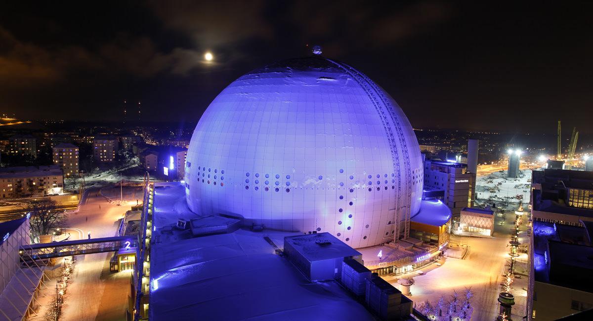 skyview globen in stockholm. Black Bedroom Furniture Sets. Home Design Ideas