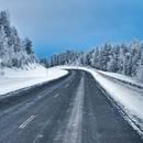 Autofahren Winter Schweden